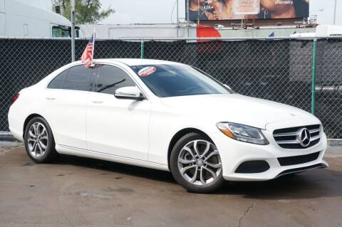 2016 Mercedes-Benz C-Class for sale at MATRIX AUTO SALES INC in Miami FL