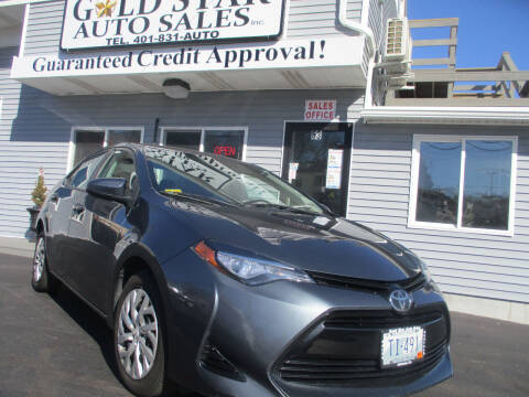 2017 Toyota Corolla for sale at Gold Star Auto Sales in Johnston RI