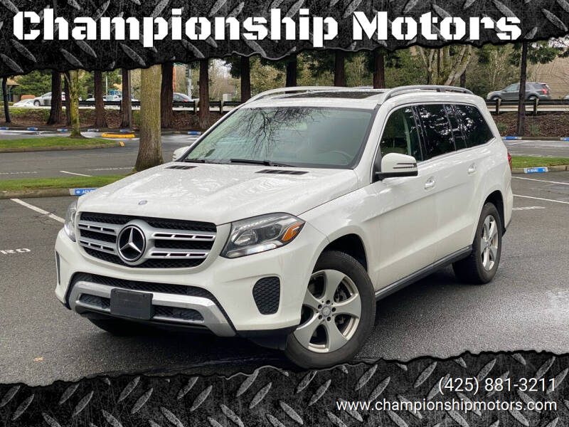 2017 Mercedes-Benz GLS for sale at Championship Motors in Redmond WA