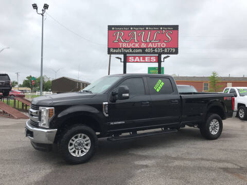 2018 Ford F-250 Super Duty for sale at RAUL'S TRUCK & AUTO SALES, INC in Oklahoma City OK