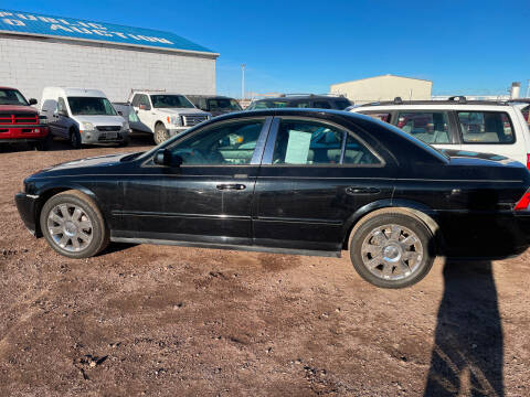 2005 Lincoln LS for sale at PYRAMID MOTORS - Fountain Lot in Fountain CO