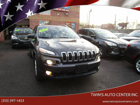 2015 Jeep Cherokee for sale at Twin's Auto Center Inc. in Detroit MI