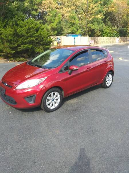 2013 Ford Fiesta for sale at Chandler Auto Sales - ABC Rent A Car in Lawrenceville GA