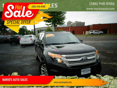 2015 Ford Explorer for sale at MARIO'S AUTO SALES in Mount Clemens MI