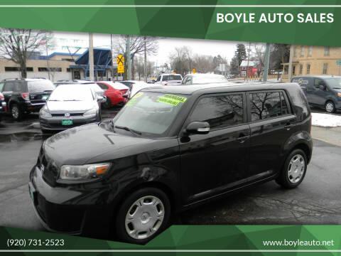 2008 Scion xB for sale at Boyle Auto Sales in Appleton WI