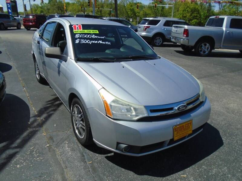 2011 Ford Focus for sale at River City Auto Sales in Cottage Hills IL