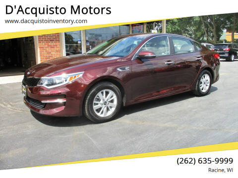 2017 Kia Optima for sale at D'Acquisto Motors in Racine WI