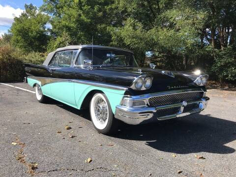 1958 Ford Galaxie 500 for sale at Clair Classics in Westford MA