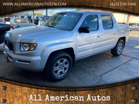 2007 Honda Ridgeline for sale at All American Autos in Kingsport TN
