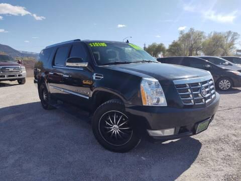 2007 Cadillac Escalade ESV for sale at Canyon View Auto Sales in Cedar City UT