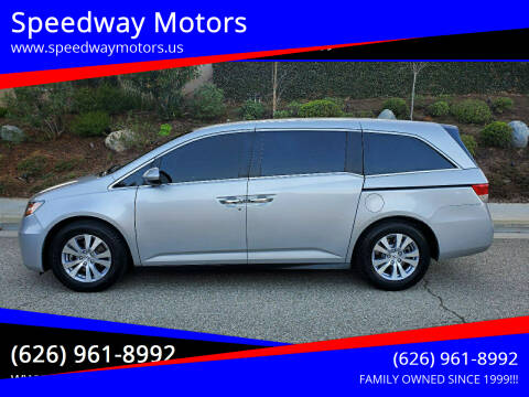 2014 Honda Odyssey for sale at Speedway Motors in Glendora CA