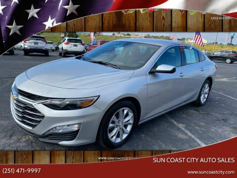 2020 Chevrolet Malibu for sale at Sun Coast City Auto Sales in Mobile AL