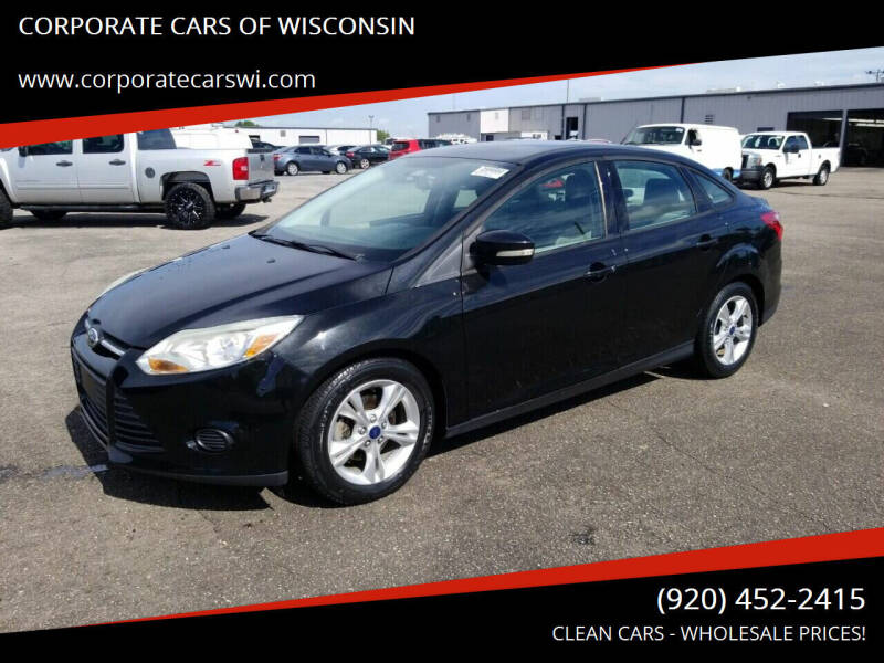 2014 Ford Focus for sale at CORPORATE CARS OF WISCONSIN in Sheboygan WI