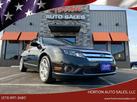 2011 Ford Fusion for sale at HORTON AUTO SALES, LLC in Linn MO