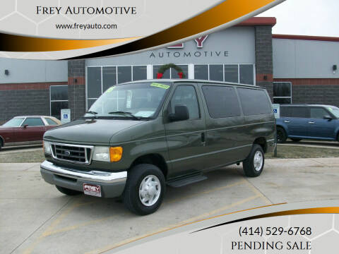 2005 Ford E-Series Wagon for sale at Frey Automotive in Muskego WI