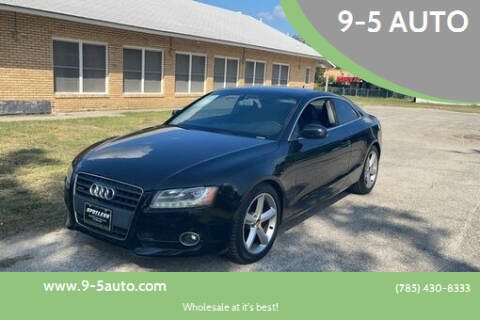2010 Audi A5 for sale at 9-5 AUTO in Topeka KS