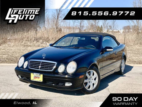 2001 Mercedes-Benz CLK for sale at Lifetime Auto in Elwood IL