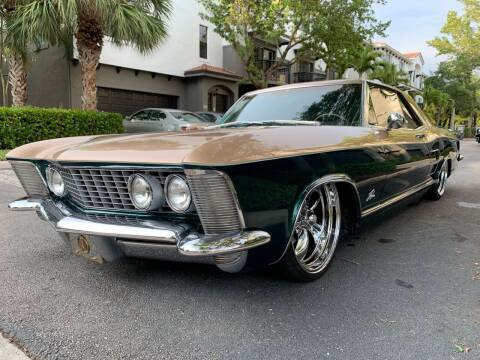 1963 Buick Riviera for sale at American Classics Autotrader LLC in Pompano Beach FL