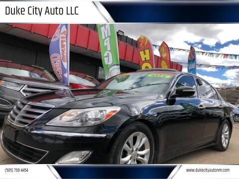 2012 Hyundai Genesis for sale at Duke City Auto LLC in Gallup NM
