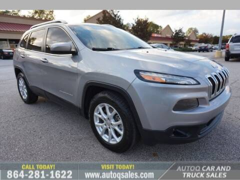 2014 Jeep Cherokee for sale at Auto Q Car and Truck Sales in Mauldin SC