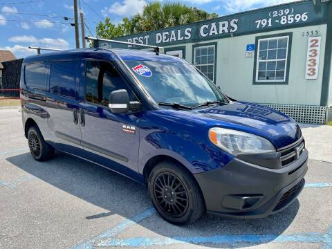2016 RAM ProMaster City Cargo for sale at Best Deals Cars Inc in Fort Myers FL