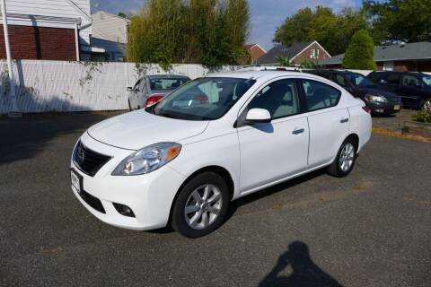 2012 Nissan Versa for sale at FBN Auto Sales & Service in Highland Park NJ