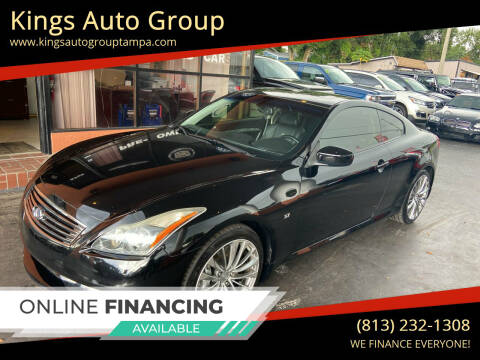 2014 Infiniti Q60 Coupe for sale at Kings Auto Group in Tampa FL