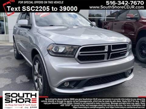 2018 Dodge Durango for sale at South Shore Chrysler Dodge Jeep Ram in Inwood NY