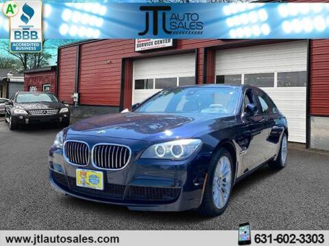 2014 BMW 7 Series for sale at JTL Auto Inc in Selden NY