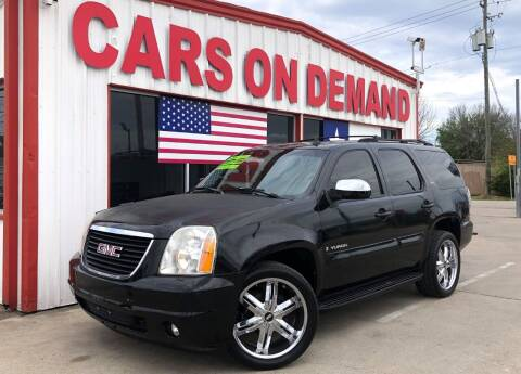 2007 GMC Yukon for sale at Cars On Demand 2 in Pasadena TX