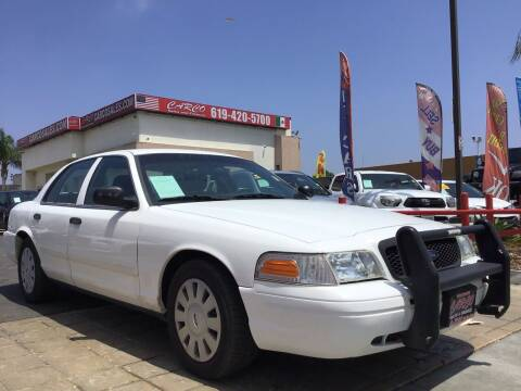2010 Ford Crown Victoria for sale at CARCO SALES & FINANCE in Chula Vista CA