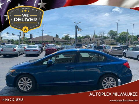 2012 Honda Civic for sale at Autoplex 2 in Milwaukee WI
