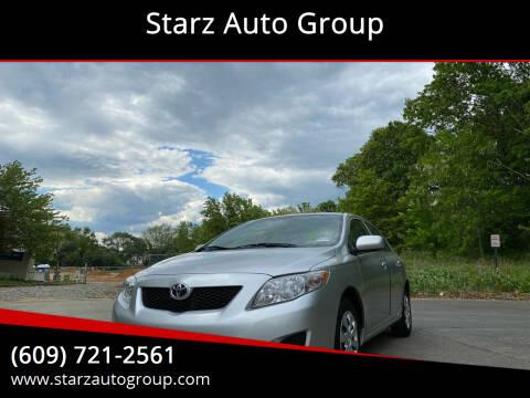 2010 Toyota Corolla for sale at Starz Auto Group in Delran NJ