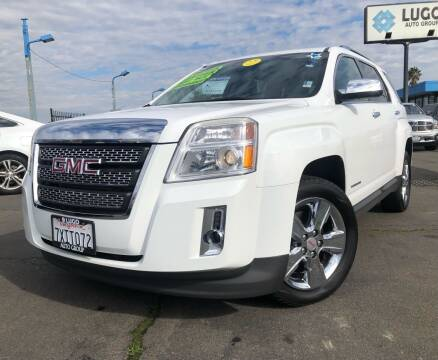 2015 GMC Terrain for sale at LUGO AUTO GROUP in Sacramento CA