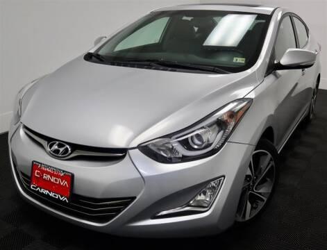 2015 Hyundai Elantra for sale at CarNova in Stafford VA