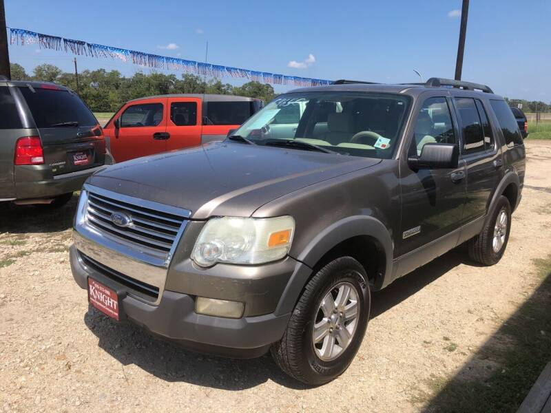 2006 Ford Explorer for sale at Knight Motor Company in Bryan TX