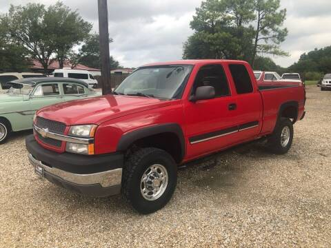2004 Chevrolet Silverado 2500HD for sale at Gtownautos.com in Gainesville TX
