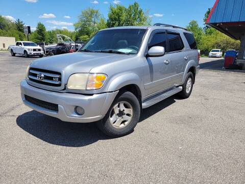 2001 Toyota Sequoia for sale at Cruisin' Auto Sales in Madison IN