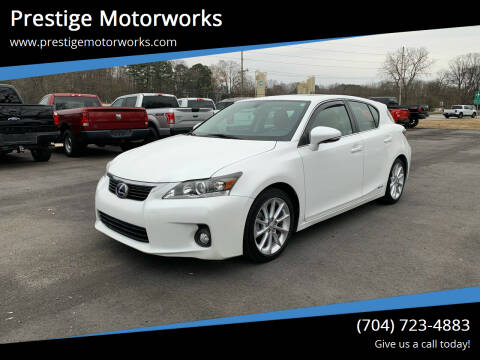 2013 Lexus CT 200h for sale at Prestige Motorworks in Concord NC