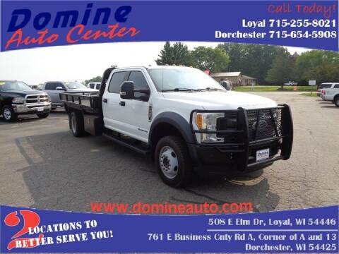 2017 Ford F-550 for sale at Domine Auto Center in Loyal WI