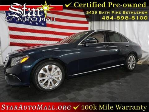 2017 Mercedes-Benz E-Class for sale at STAR AUTO MALL 512 in Bethlehem PA