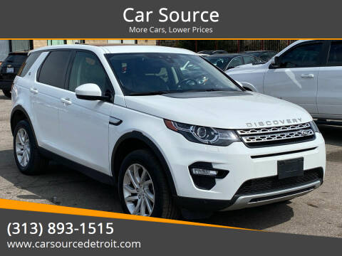 2017 Land Rover Discovery Sport for sale at Car Source in Detroit MI