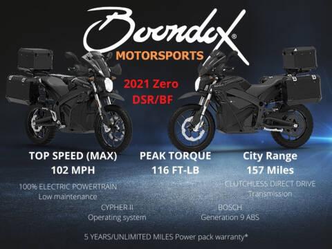 2021 Zero DSR/BF ZF14.4 for sale at Boondox Motorsports in Caledonia MI