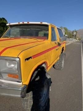 1983 Ford Bronco for sale at Classic Car Deals in Cadillac MI