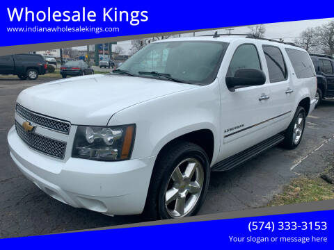 2013 Chevrolet Suburban for sale at Wholesale Kings in Elkhart IN