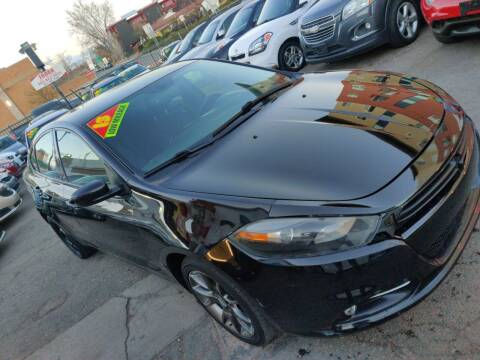 2013 Dodge Dart for sale at Sanaa Auto Sales LLC in Denver CO