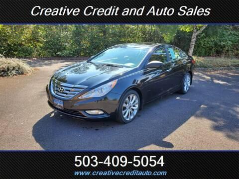 2012 Hyundai Sonata for sale at Creative Credit & Auto Sales in Salem OR