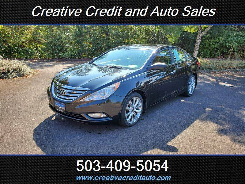 2012 Hyundai Sonata for sale at Creative Credit & Auto Sales in Salem OR