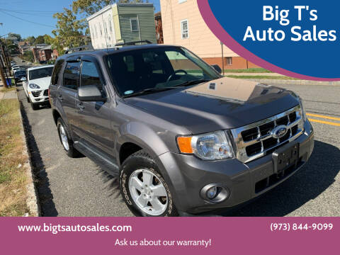 2012 Ford Escape for sale at Big T's Auto Sales in Belleville NJ