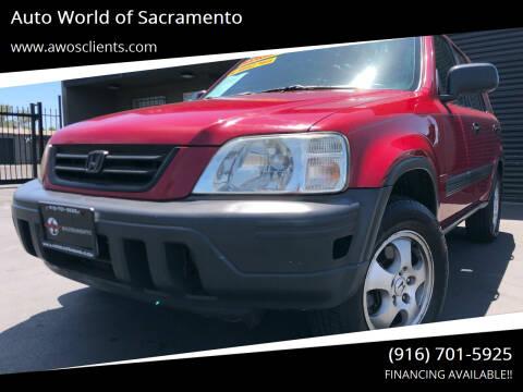 1997 Honda CR-V for sale at Auto World of Sacramento Stockton Blvd in Sacramento CA